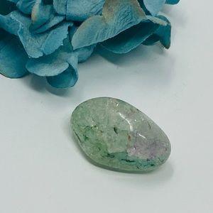Green crackle quartz